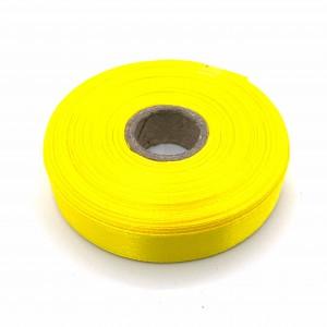 Атласная лента Жёлтый 12 мм