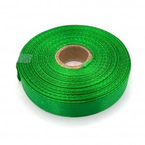 Атласная лента Зелёный 12 мм