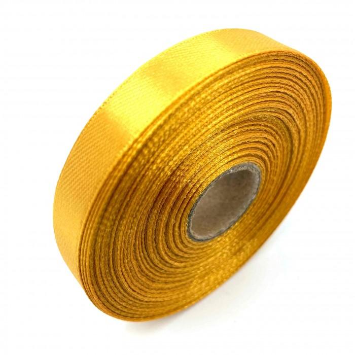 Атласная лента Золотистый 12 мм