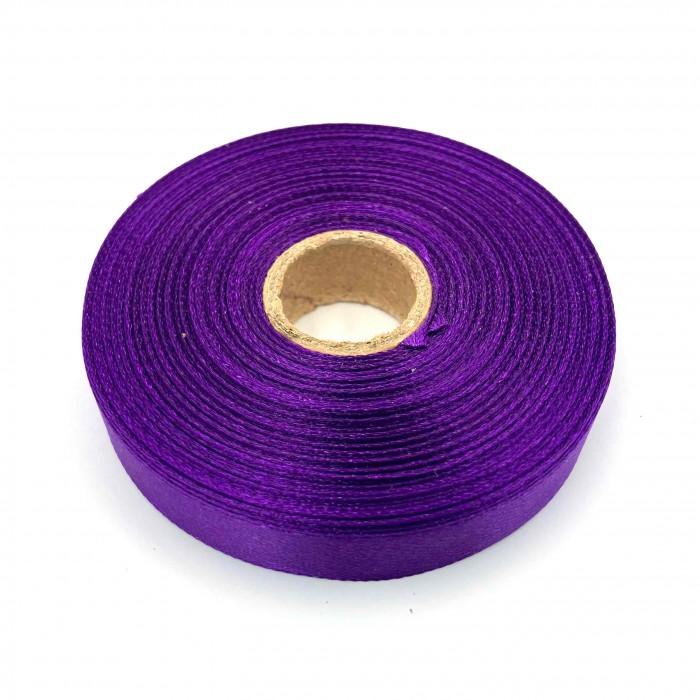 Атласная лента Пурпурный 12 мм