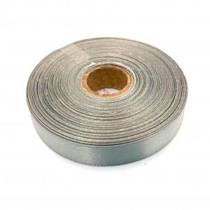 Атласная лента Серебристый 12 мм