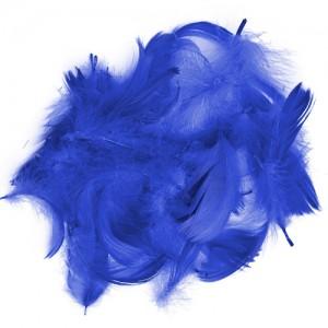 Перья для декора Тёмно-Синий (12 г.)