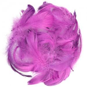 Перья для декора Фиолетовый (12 г.)