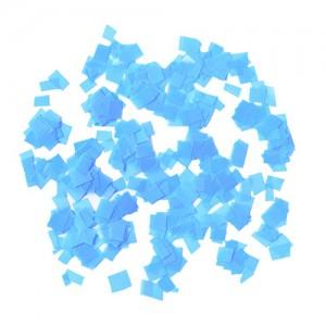 Конфетти 5х5 мм квадратики Голубой 100 г