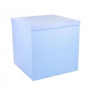 Коробка для шаров голубая 70х70х70 (1шт.)