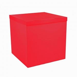 Коробка для шаров красная 70х70х70 (1шт.)