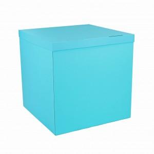 Коробка для шаров мятная 70х70х70 (1шт.)