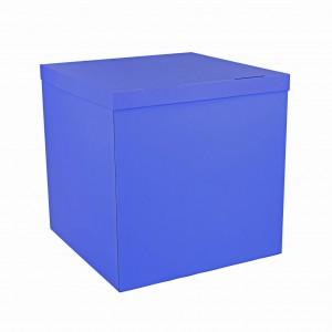 Коробка для шаров синяя 70х70х70 (1шт.)