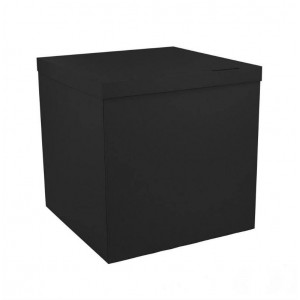 Коробка для шаров черная 70х70х70 (1шт.)