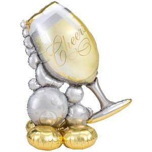 Стоячий шар фигура Cheers AirLoonz под воздух (Anagram)