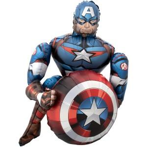 Стоячий шар фигура Капитан Америка (Anagram)