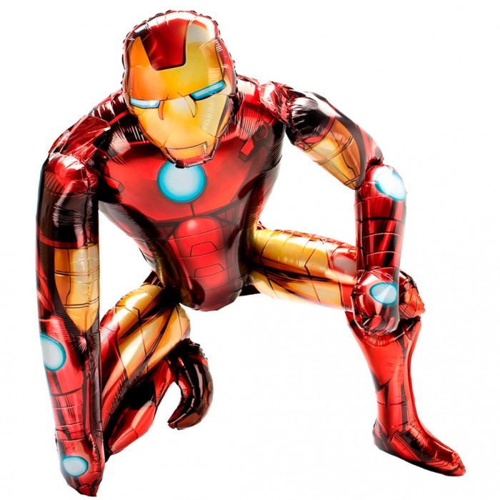 Сидячий шар фигура Железный человек (Китай)