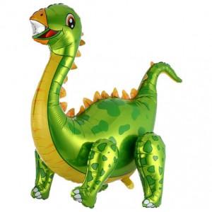 Стоячий шар фигура Диплодок Зелёный (Китай)