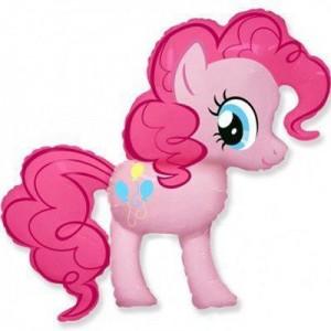 Фольгированный шар фигура Пони Пинки Пай (My Little Pony) (Flexmetal)