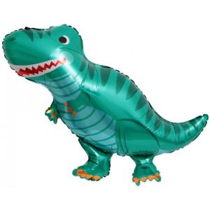 Фольгированный шар фигура Динозавр смайл (Китай)