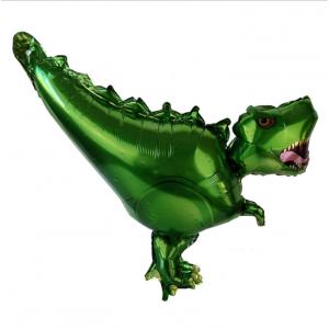 Фольгированный шар фигура Тиранозавр Зелёный (Китай)