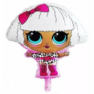 Фольгированный шар фигура Кукла LOL Дива (Китай)