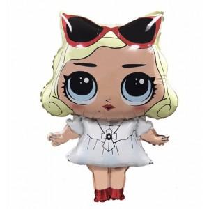 Фольгированный шар фигура Кукла LOL Мерелин Монро (Китай)