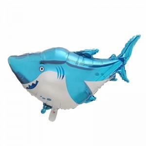 Фольгированный шар мини фигура Акула (Китай)