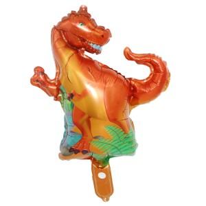 Фольгированный шар мини фигура Тиранозавр Рекс (Китай)