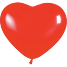 Шарики в форме сердец