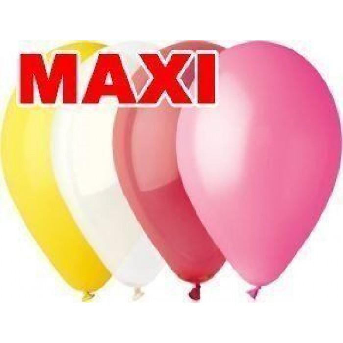 Латексный шар 10″ (25 см.) Пастель Ассорти MAXI (Gemar) (500 шт.)