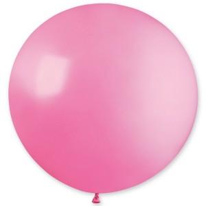 """Латексный шар 32"""" (80 см.) Пастель Розовый #06 (Gemar) (1шт.)"""