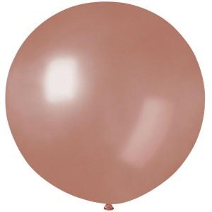 """Латексный шар 32"""" (80 см.) Металлик Rose gold #71 (Gemar) (1шт.)"""