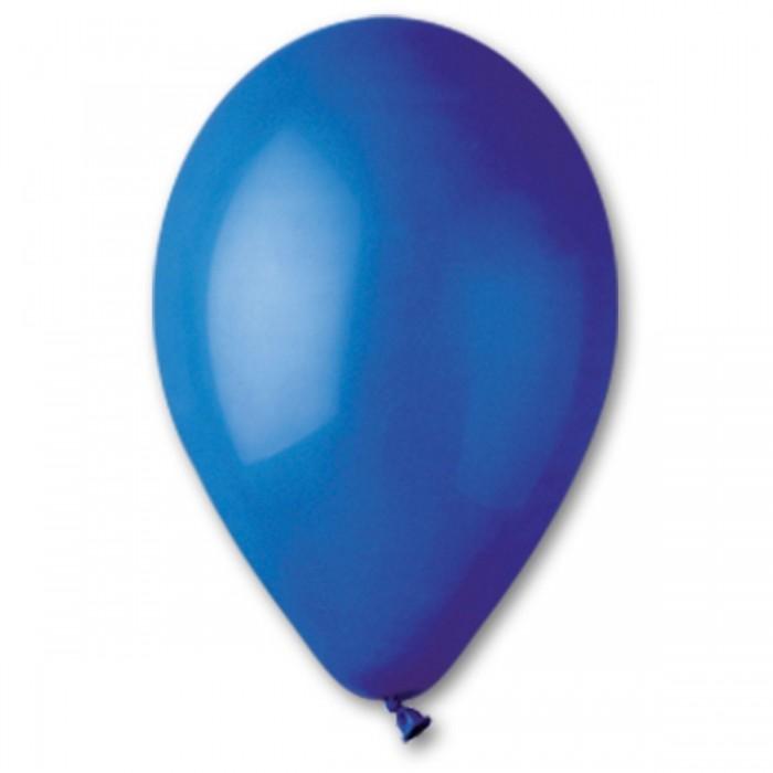Латексный шар 12″ (30 см.) Пастель Синий #46 (Gemar) (100 шт.)