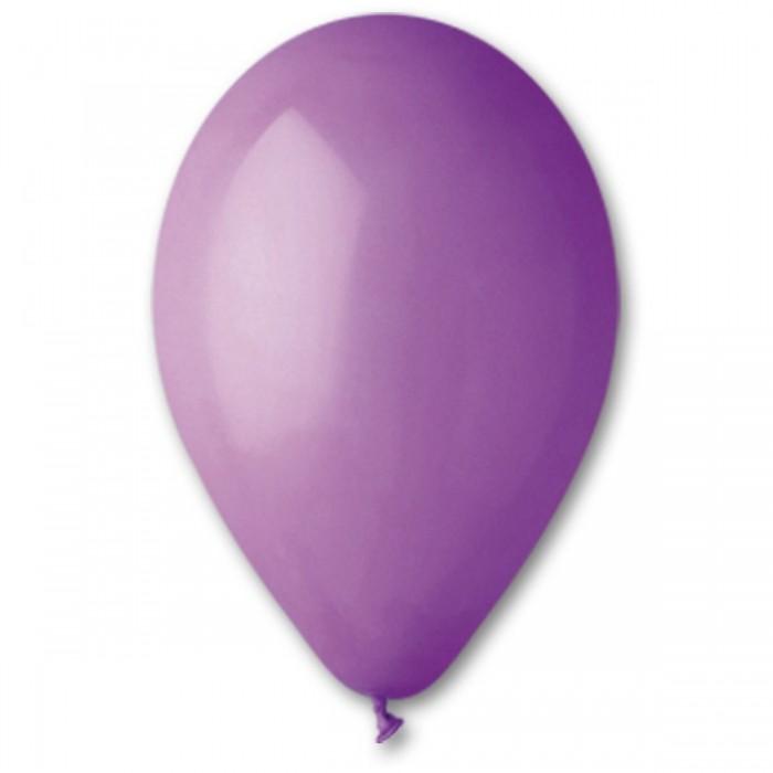 Латексный шар 10″ (25 см.) Пастель Лавандовый #49 (Gemar) (100 шт.)