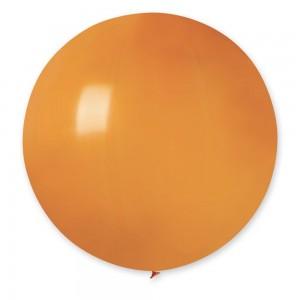 """Латексный шар 32"""" (80 см.) Пастель Оранжевый #04 (Gemar) (1шт.)"""