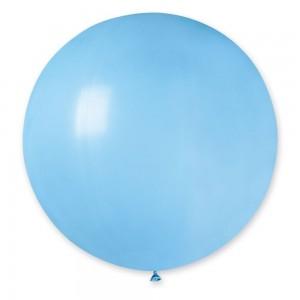 """Латексный шар 32"""" (80 см.) Пастель Светло-Голубой #09 – (1шт.)"""