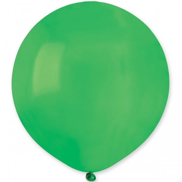 """Латексный шар 18"""" (45 см.) Пастель Зеленый #13 (Gemar) (1шт.)"""