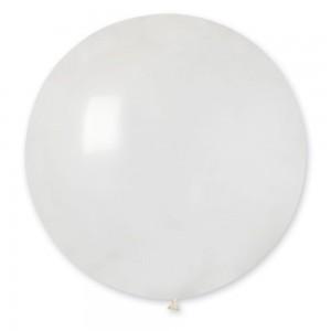 """Латексный шар 32"""" (80 см.) Кристалл Прозрачный #00 (Gemar) (1шт.)"""
