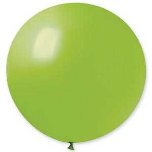 """Латексный шар 32"""" (80 см.) Пастель Светло-Зеленый #11 (Gemar) (1шт.)"""