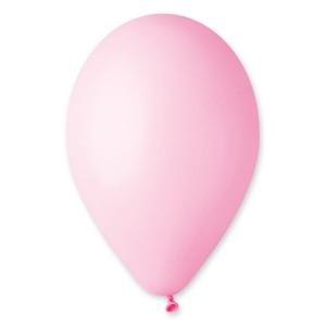 Латексный шар 10″ (25 см.) Пастель Розовый Матовый #73 (Gemar) (100 шт.)