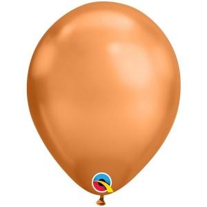 Латексный шар 11″ (28 см.) ХРОМ Медный (Сhrome Сopper) (1 шт.)