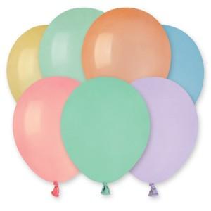 Латексный шар 5″ (13 см.) Пастель Macaron Ассорти (Gemar) (100 шт.)