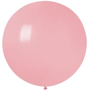 """Латексный шар 32"""" (80 см.) Пастель Розовый Матовый (baby pink) #73 (Gemar) (1шт.)"""