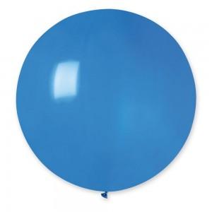 """Латексный шар 32"""" (80 см.) Пастель Синий #10 (Gemar) (1шт.)"""