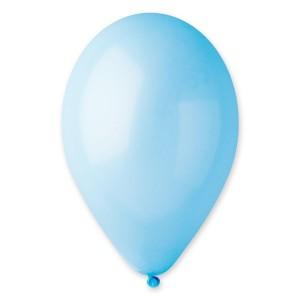 Латексный шар 5″ (13 см.) Пастель Голубой #09 (Gemar) (100 шт.)