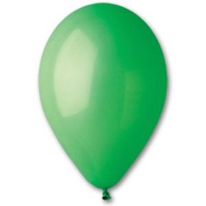 Латексный шар 10″ (25 см.) Пастель Зеленый #12 (Gemar) (100 шт.)