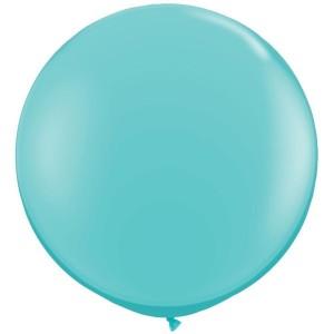"""Латексный шар 32"""" (80 см.) Пастель Аквамарин #50 (Gemar) (1шт.)"""