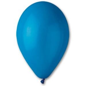 Латексный шар 10″ (25 см.) Пастель Синий #10 (Gemar) (100 шт.)