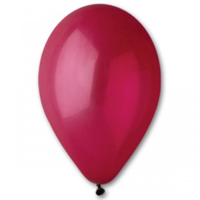 Латексный шар 12″ (30 см.) Пастель Бургундия #47 (Gemar) (100 шт.)