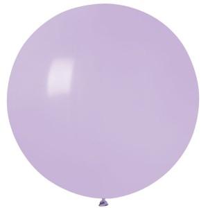 """Латексный шар 32"""" (80 см.) Пастель Сирень (lilac) #79 (Gemar) (1шт.)"""