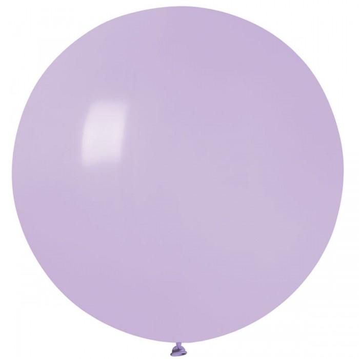 """Латексный шар 32""""(80 см.) Пастель Сирень (lilac) #79 (Gemar) (1шт.)"""