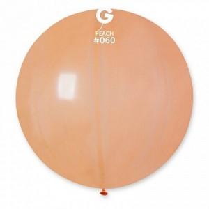 """Латексный шар 32"""" (80 см.) Пастель Персик #60 (Gemar) (1шт.)"""