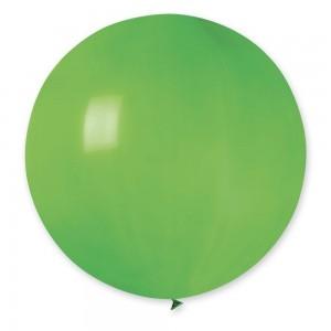 """Латексный шар 32"""" (80 см.) Пастель Зелёный #12 (Gemar) (1шт.)"""