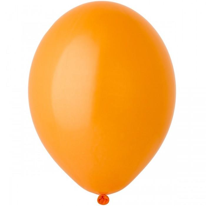Латексный шар 12″ (30 см.) Пастель Оранжевый #007 (Belbal) (50 шт.)